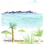 JSB watercolor beach palm