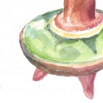 JSB watercolor jug